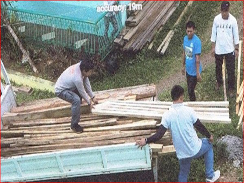 At least 446 board feet of illegally cut forest products seized in Biliran